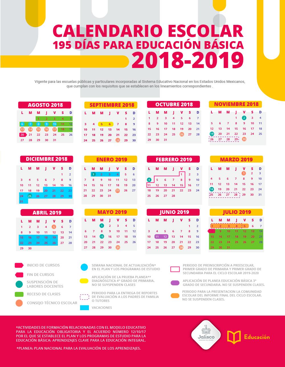 Calendario 20017.Calendario Escolar Portalsej